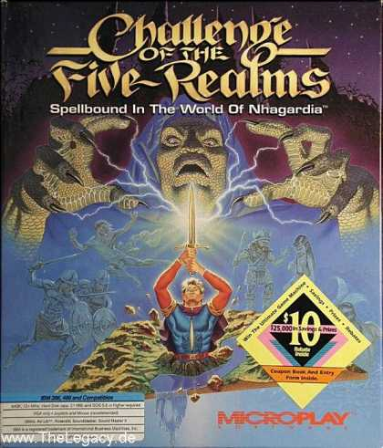 Misc. Games - Challenge of the Five Realms: Spellbound in the World of Nhagardia
