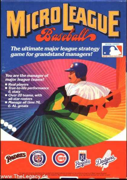 Misc. Games - MicroLeague Baseball