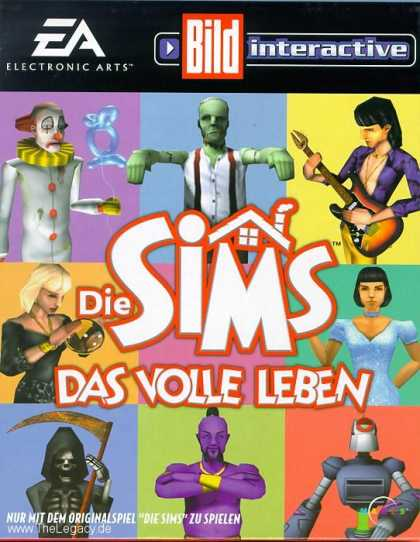 Misc. Games - Sims, The: Livin' Large Expansion Pack