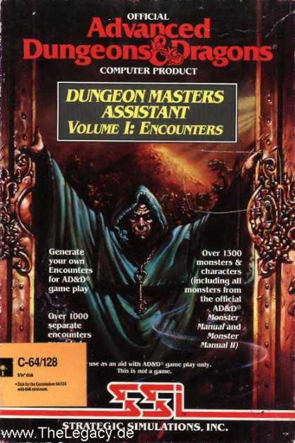 Misc. Games - Dungeon Masters Assistant Volume I: Encounters