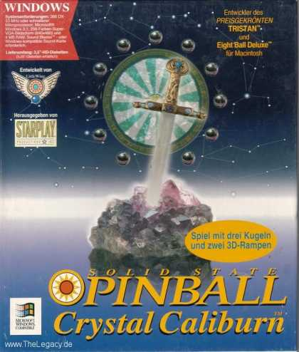Misc. Games - Solid State Pinball: Crystal Caliburn