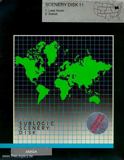Misc. Games - Sublogic Scenery Disk 11