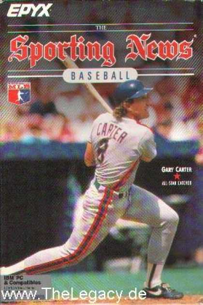 Misc. Games - Sporting News Baseball, The