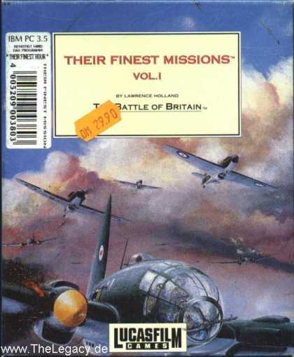 Misc. Games - Their Finest Missions: Volume One