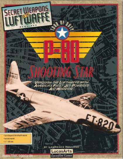 Misc. Games - Secret Weapons of the Luftwaffe: P-80 Shooting Star