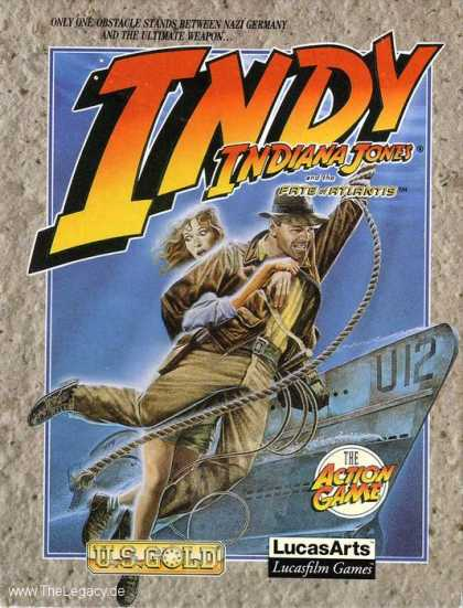 Misc. Games - Indiana Jones and the Fate of Atlantis: The Action Game