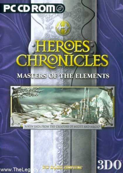 Misc. Games - Heroes Chronicles: Masters of the Elements