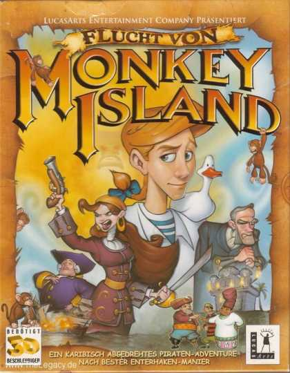 Misc. Games - Escape from Monkey Island