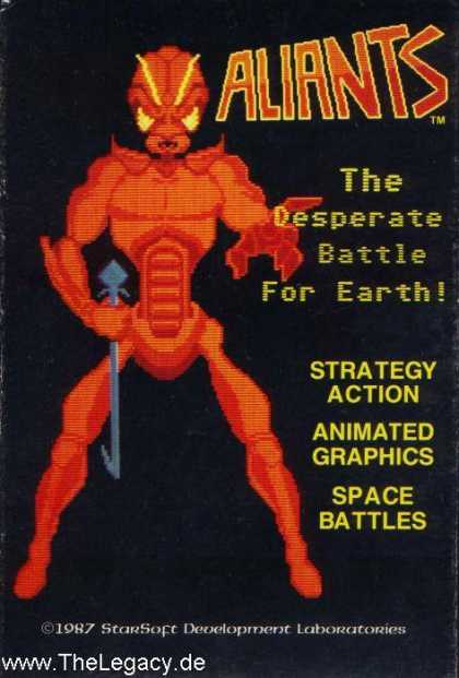 Misc. Games - Aliants: The Desperate Battle for Earth