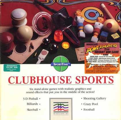 Misc. Games - ClubHouse Sports
