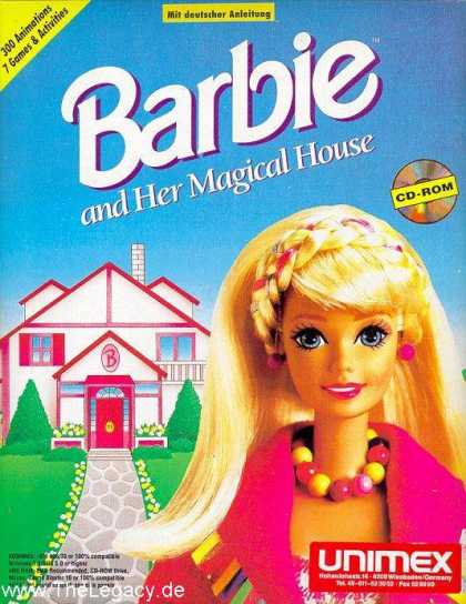 Misc. Games - Barbie: and her Magical House