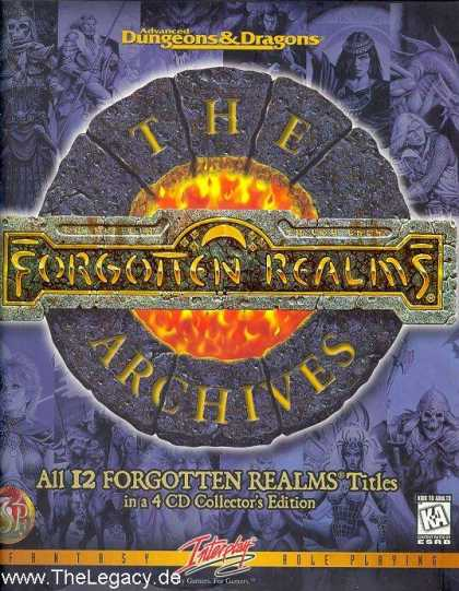 Misc. Games - Forgotten Realms - The Archives