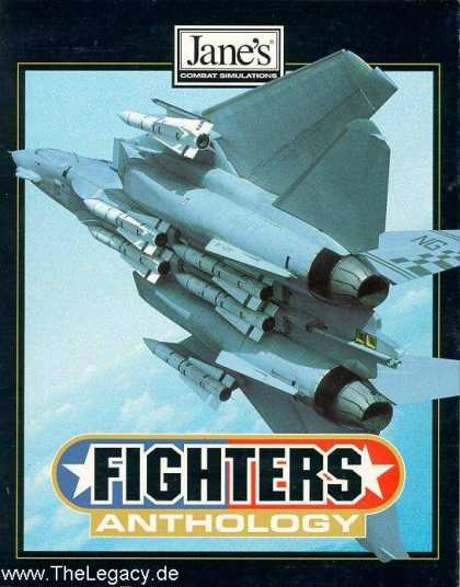 Misc. Games - Jane's Combat Simulations - Fighters Anthology