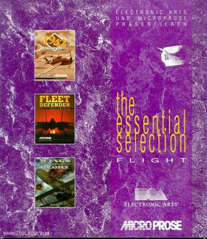 Misc. Games - Essential Selection, The: Flight