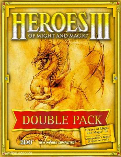 Misc. Games - Heroes of Might and Magic III: Double Pack