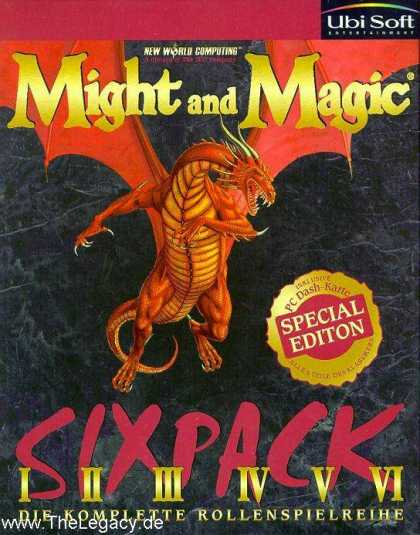 Misc. Games - Might and Magic: Sixpack