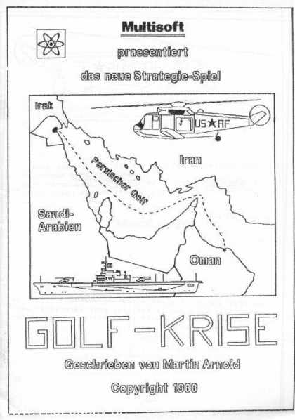Misc. Games - Golf-Krise