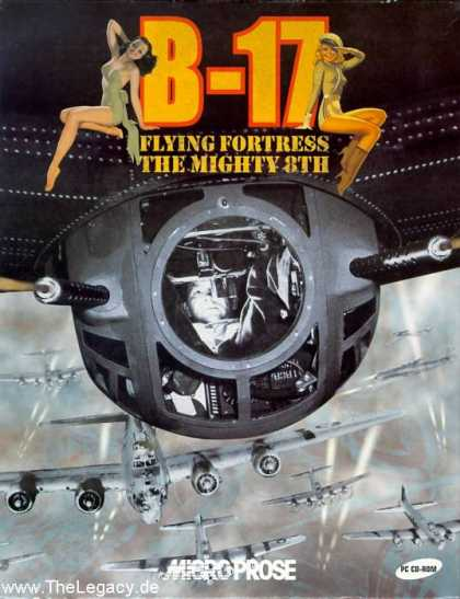 Misc. Games - B-17 Flying Fortress: The Mighty 8th