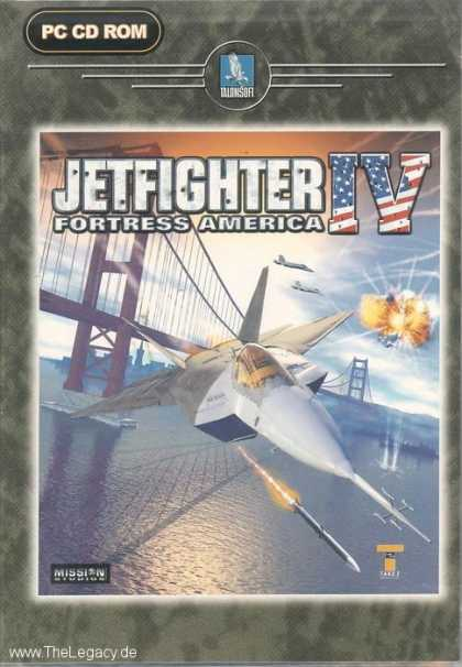 Misc. Games - Jetfighter IV: Fortress America