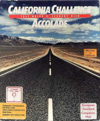 Misc. Games - California Challenge: Test Drive II Scenery Disk