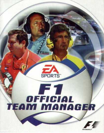 Misc. Games - F1 Official Team Manager