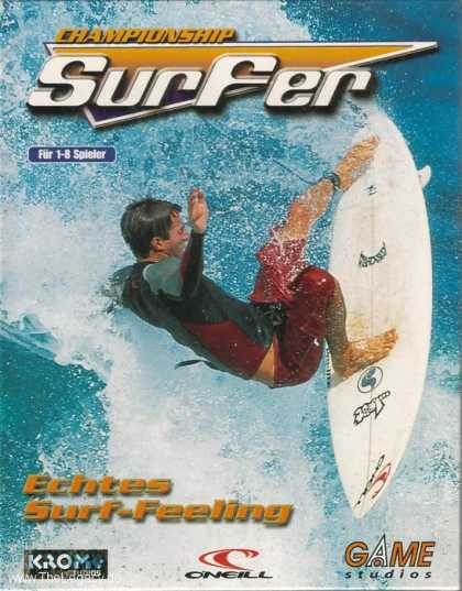 Misc. Games - Championship Surfer