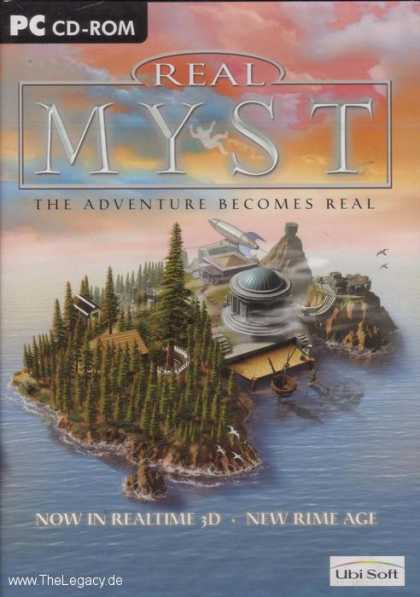 Misc. Games - Real Myst: The Adventure becomes real