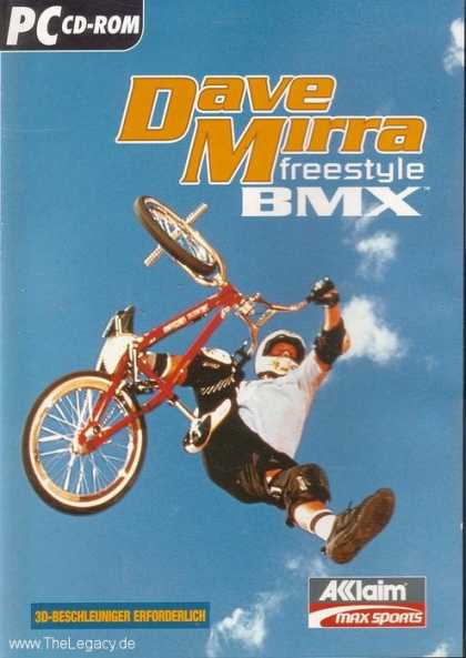 Misc. Games - Dave Mirra Freestyle BMX