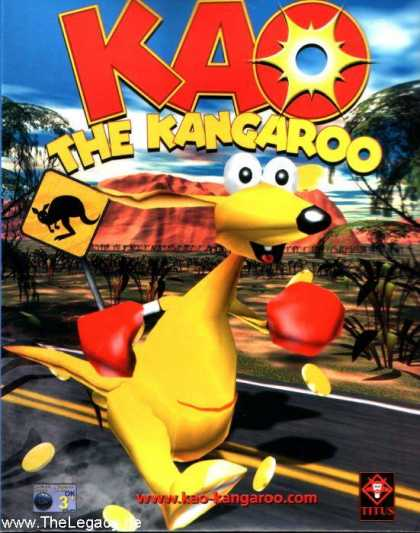 Misc. Games - KAO - The Kangaroo