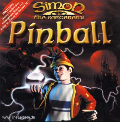 Misc. Games - Simon the Sorcerer's Pinball