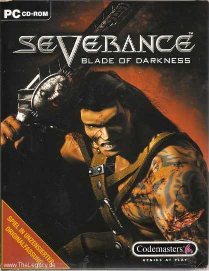 Misc. Games - Severance: Blade of Darkness