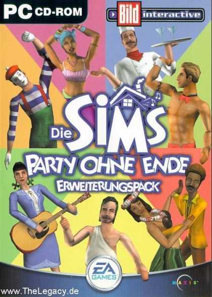 Misc. Games - Sims, The: House Party