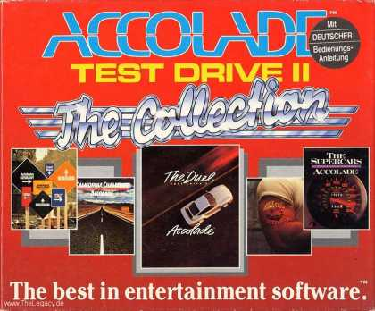 Misc. Games - Test Drive II: The Collection