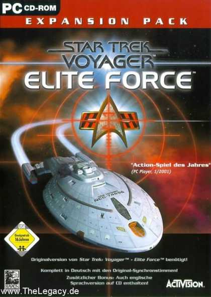 Misc. Games - Star Trek Voyager - Elite Force - Expansion Pack