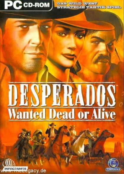 Misc. Games - Desperados: Wanted Dead or Alive