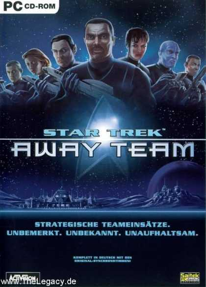 Misc. Games - Star Trek - Away Team