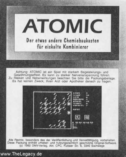 Misc. Games - Atomic