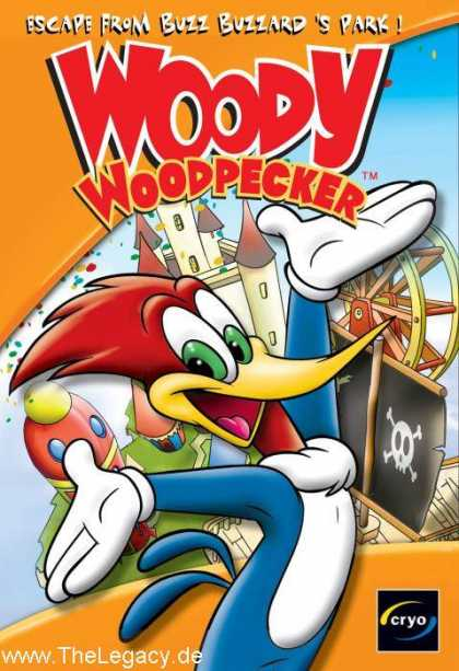 Misc. Games - Woody Woodpecker: Escape from Buzz Buzzard's Park!