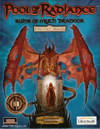Misc. Games - Pool of Radiance: Ruins of Myth Drannor