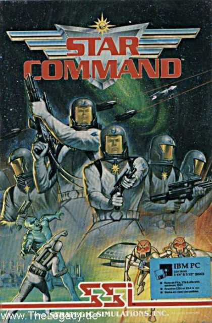 Misc. Games - Star Command