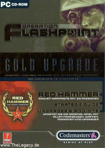 "Misc. Games - Operation Flashpoint: Red Hammer ""Gold Ugrade"""