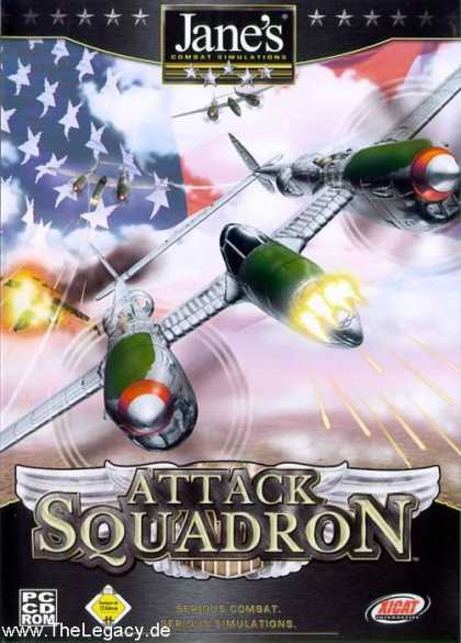 Misc. Games - Jane's Combat Simulations - Attack Squadron