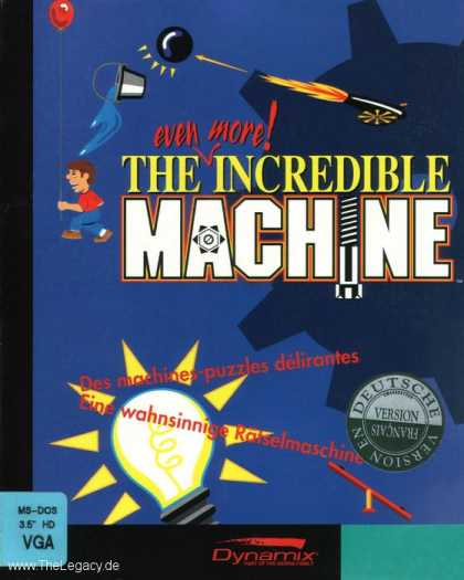 Misc. Games - even more! Incredible Machine, The
