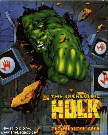 Misc. Games - Incredible Hulk, The: The Pantheon Saga
