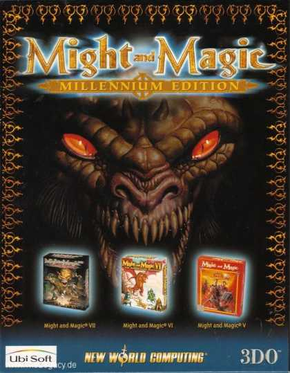 Misc. Games - Might and Magic: Millennium Edition