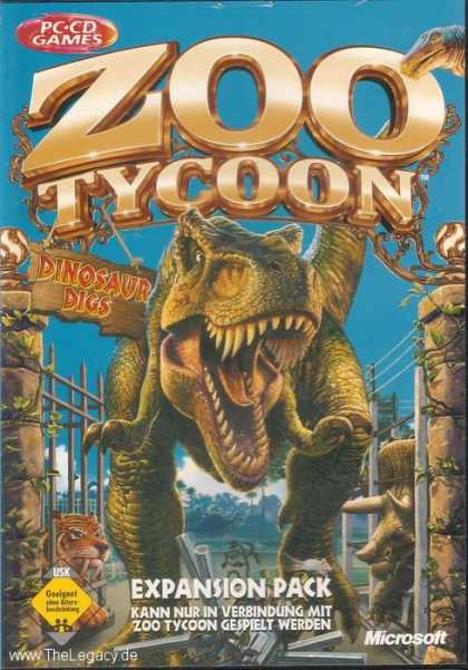 Misc. Games - Zoo Tycoon: Dinosaur Digs