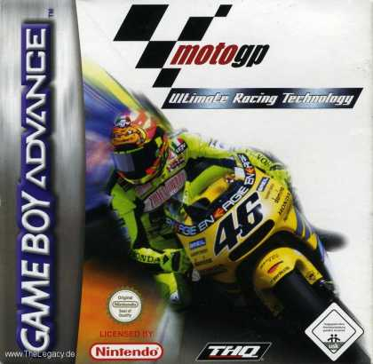 Misc. Games - Moto GP: Ultimate Racing Technology