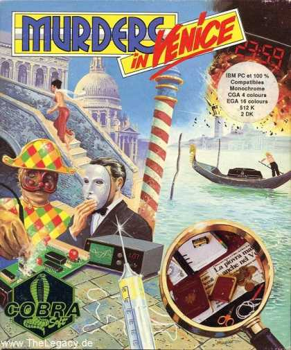 Misc. Games - Murders in Venice