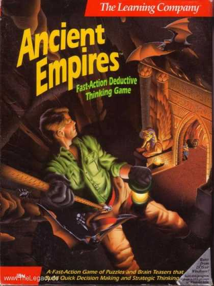 Misc. Games - Challenge of the Ancient Empires!: A Super Solvers Adventure