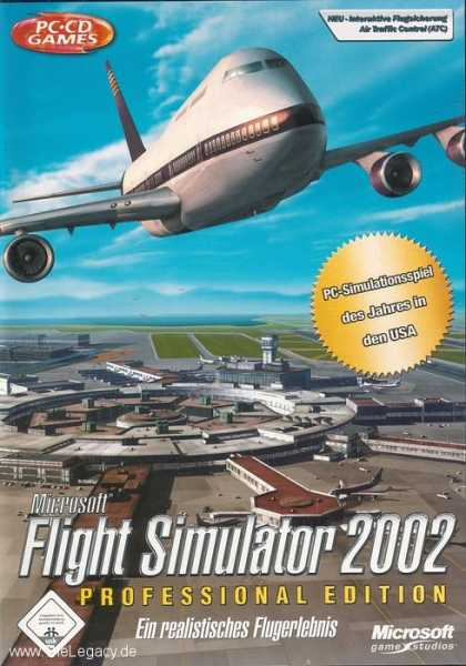 Misc. Games - Flight Simulator 2002 Professional